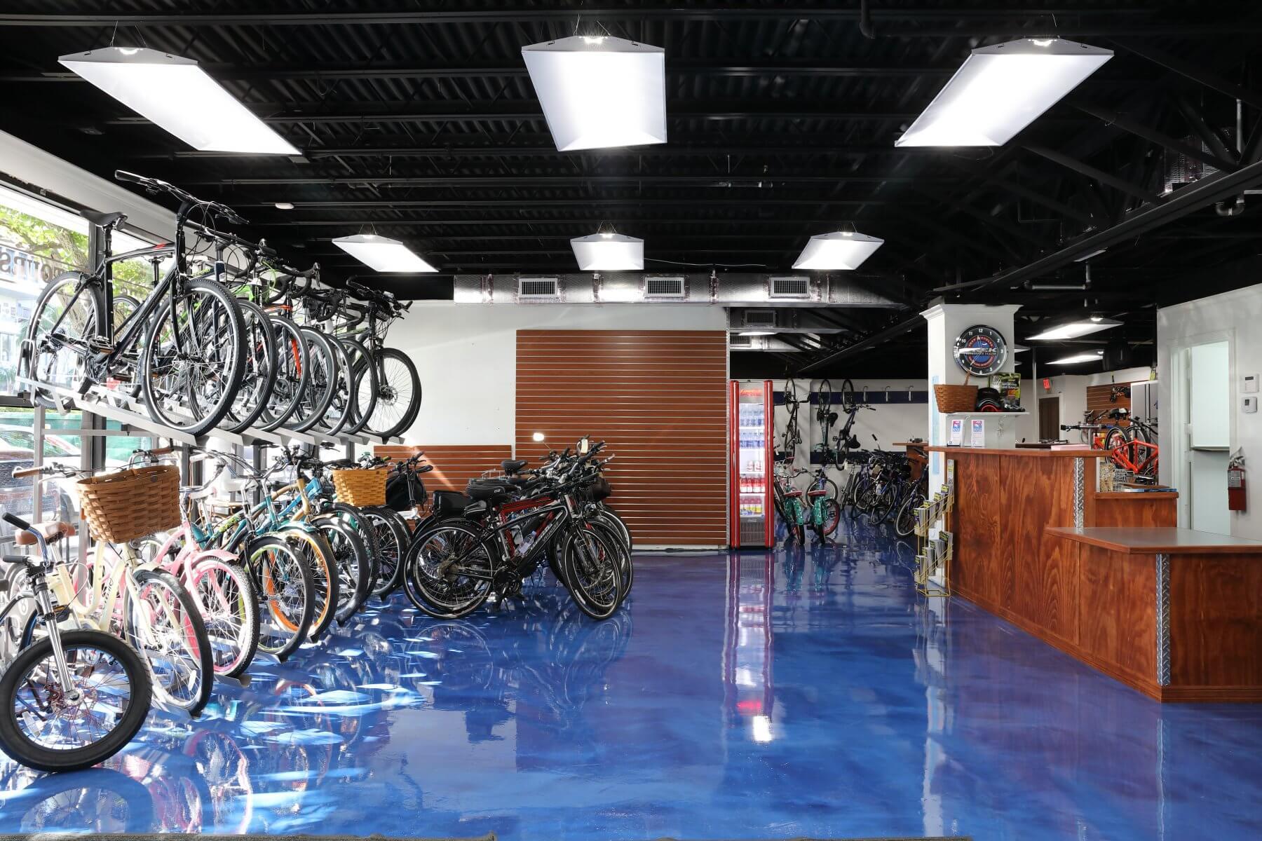 Palm Beach Bicycle Trail Shop The Royal Poinciana Plaza